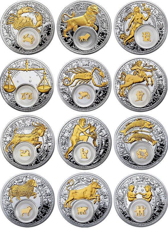 цветут картинки медалей в виде знаков зодиака короны премио